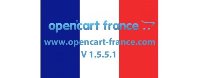 Opencart  1.5.5.1 français est disponible en téléchargement
