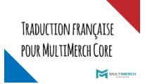 Pack de traduction française pour MultiMerch Core